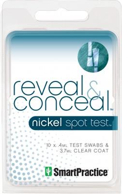 Reveal&Conceal Nikkel teszt