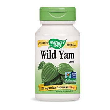 Natures Way Wild Yam kapszula 100 db
