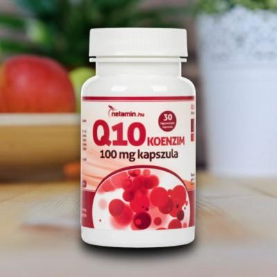 Netamin Q10 koenzim kapszula 100 mg (30 db)