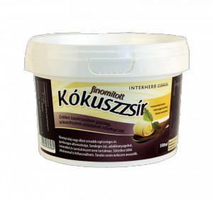 Interherb gurman kókuszzsír, 500 ml