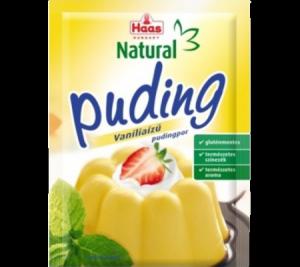 Haas pudingpor vanília natural, 40 g