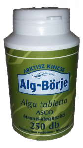 Alg börje ASCO Ascophyllum nodosum, makroalga tabletta, 250 db