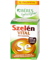 Béres Szelén VITAL filmtabletta, 30 db
