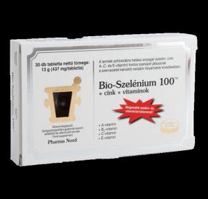 Pharma Nord bio-szelénium + cink, 60 db