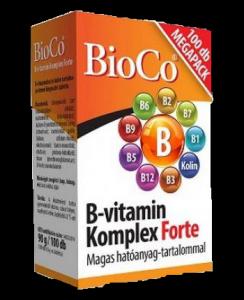 BioCo B-vitamin komplex forte, 100 db