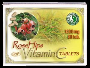 Dr. Chen C-vitamin csipkebogyókivonattal, 80 db
