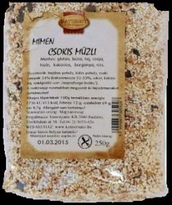 MIMEN Csokis müzli, 250 g
