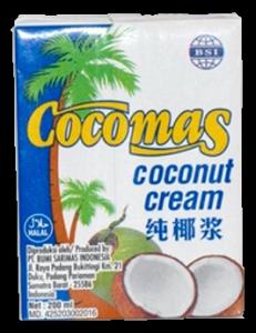 Cocomas natúr kókusztejszín, 1000 ml