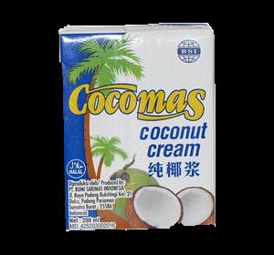Cocomas natúr kókusztejszín, 200 ml
