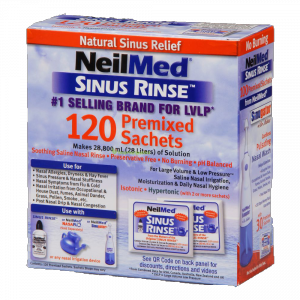 Sinus Rinse Orr irrigátor utántöltő 100 + 20 db só (felnőtt)