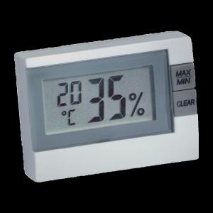 Digitális páratartalom- és hőmérő készülék