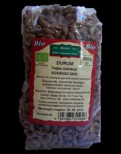 Rédei Bio barna durumtészta, szarvacska, 500 g
