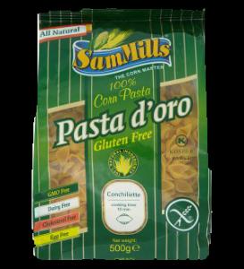 Pasta doro gluténmentes kagyló tészta, 500 g
