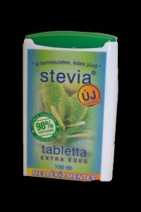 Stevia tabletta, 200 db