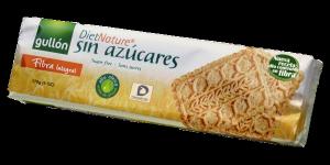 Gullon élelmi rostban gazdag diabetikus keksz édesítőszerrel, 170 g