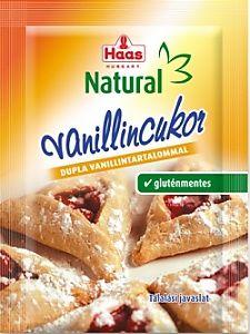 Haas vanilincukor, 8 g