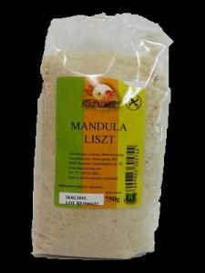 Naturbit mandulaliszt, 750 g