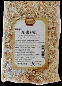 MIMEN Almás müzli, 250 g