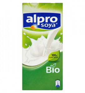 Alpro szójaital bio natúr, 1000 ml