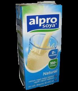 Alpro szójaital natúr+kalcium, 250 ml