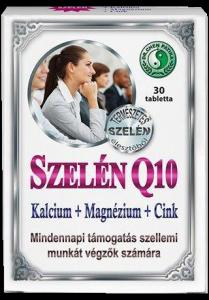 Dr. Chen Szelén Q10 + kalcium + magnézium + cink, 30 db