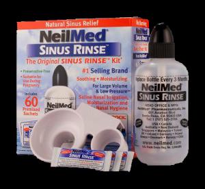 Sinus Rinse Orr irrigátor szett, 240 ml-es palack + 60 db só (felnőtt)