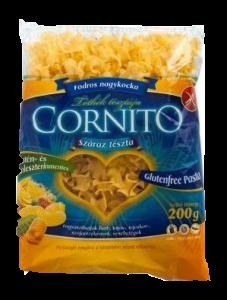 Cornito gluténmentes tészta fodros kocka, 200 g