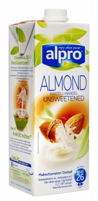 Alpro mandulaital cukormentes, 1000 ml