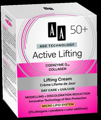 AA AT Active Lifting 50+ Nappali Krém