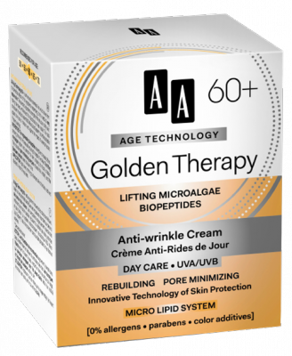 AA AT Golden Therapy 60+ Nappali Arckrém