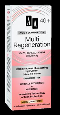 AA AT Multi Regeneration 40+ Szemkörnyéki krém