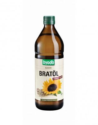 Byodo napraforgó sütőolaj, 750 ml