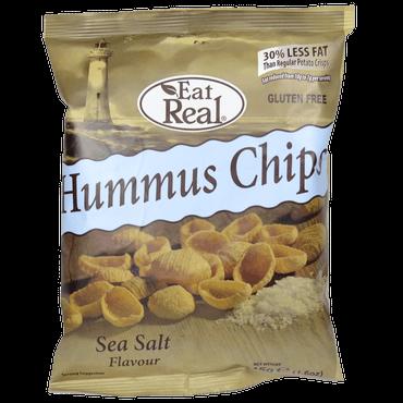 Eat Real csicseriborsó chips tengeri sóval