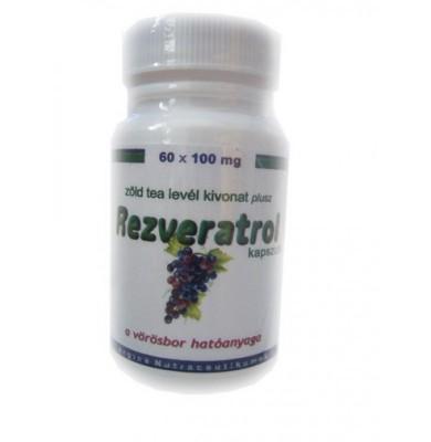 Interherb Rezveratrol kapszula 60 db