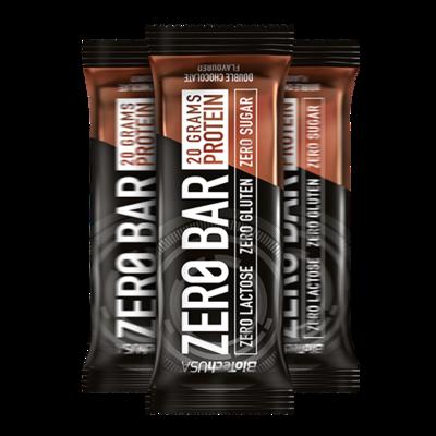 Zero Bar Protein szelet dupla csokoládé ízű