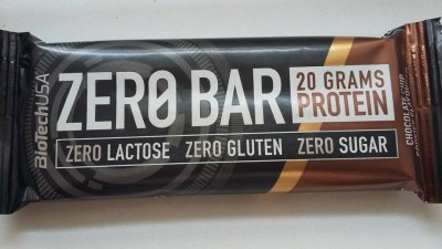 Zero Bar Protein szelet chocolate chip cookes ízű