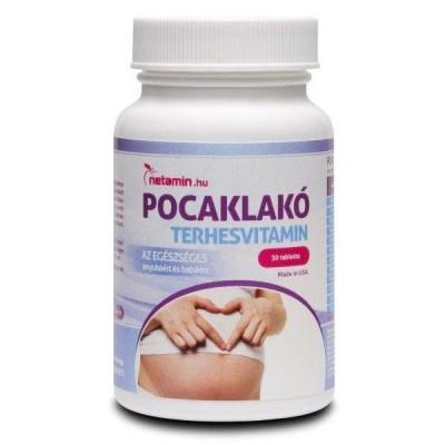 Netamin Pocaklakó terhesvitamin 30 db